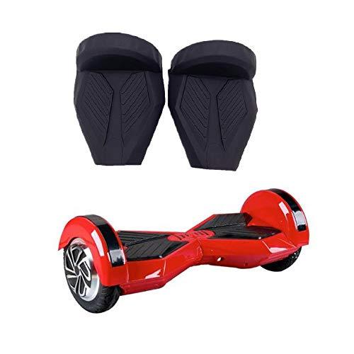 wfive Silikon-Schutzhülle und Hülsen für 20,3 cm (8 Zoll) Elektro-Scooter, kompatibel mit 20,3 cm Hoverboard, Schwarz