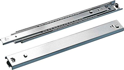 'Rittal Zubehör Rack–Zubehör Rack (Silber, Stahl, 50kg, 48,3cm (19), 2Stück (S), 2,77kg)