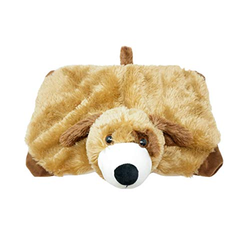 Harkla Weighted Lap Animal for Kids (5lbs) - Includes Dog Cover and Inside Weight - Weighted Stuffed Animals Help with ASD & SPD