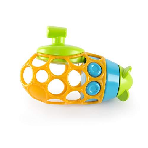 Bright Starts, Oball U-Boot Badespielzeug aus leicht greifbarem, schwimmendem Material mit aufziehbarem Propeller