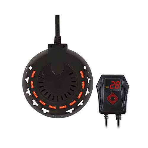 ZDY Mini Aquarium Heizung 300W 500W 800W, kleine Aquarium Heizung mit Einstellbarer LED Digital Temperaturanzeige und externem Thermostatregler für Betta Turtle.