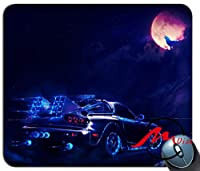 ZMvise車の背景ファッション漫画マウスパッドマットカスタム四角形ゲームマウスパッド