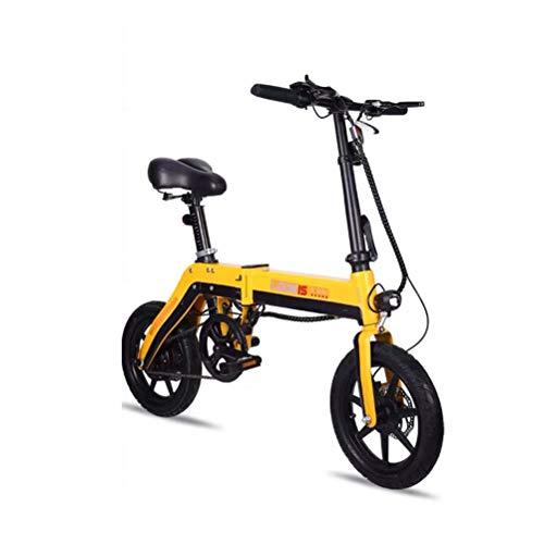 ZHJIUXING HO Bicicleta Electrica Plegables, 250W Motor Bicicleta Plegable 25 km/h, Bici...