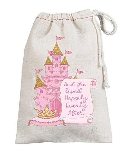 Happily Everly After Birthday Party Favors Sacs à dragées sur le thème de la princesse