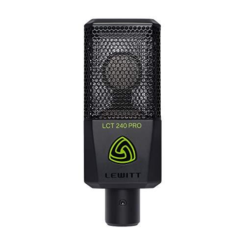 Lewitt LCT 240Pro Mikrofon für Home Recording, Schwarz