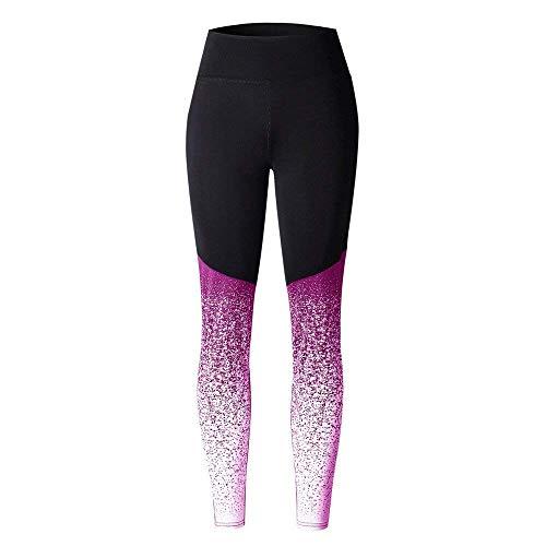 HuntDream para Mujer Leggings Impresos único Estampado Cepillado elástico Pantalones Entrenamiento Yoga Fitness