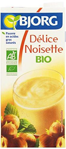 Bjorg Boisson Délice Noisette Bio 1 L - Lot de 6