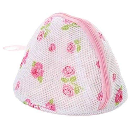 Depory Wäschebeutel Wäschenetz Wäschesack Ideal für BH, Unterwäsche, Socken, Strumpfhosen, Babysachen Stoffdruck