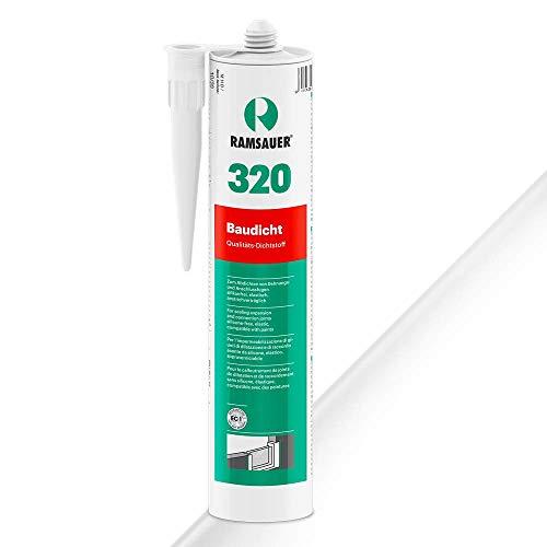 Ramsauer 320 Baudicht 1K Hybrid Dichtstoff 310ml Kartusche (Weiß)