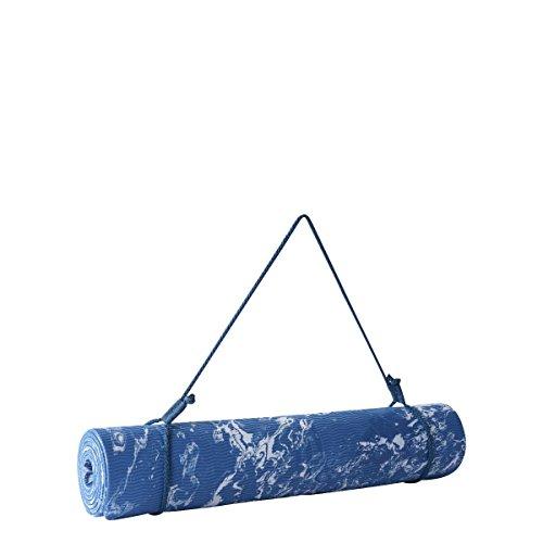 adidas Mat Camo Tapete de Yoga, Mujer, Azul Azusen/Azubas, NS