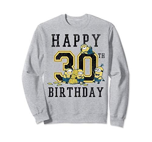 Despicable Me Minions Happy 30th Birthday Sudadera