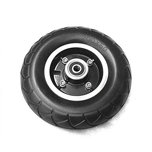 BESTEU Elektroroller Vollrad Reifen Roller Ersatzräder Reserverad 8 Zoll Anti-Rutsch Roller Rad Mit Vollreifen