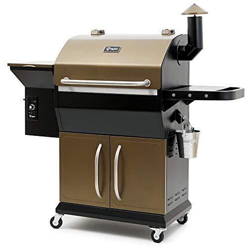BBQ-Toro Pellet Smoker Grill PG2 | vollautomatisch Räuchern | Pelletgrill inkl. Abdeckhaube | Holzpelletgrill