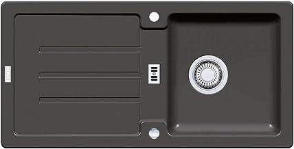 Arkas 1-Kammer-Einbausp/üle Mod Edelstahl INTL 80x60 1B1D L 100106001