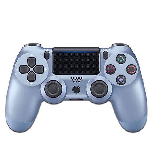 MOKY Wireless Controller, Controlador para Juegos de vibración Dual Cambiar la Palanca de Mando con el Tipo-C Cable de Carga para Nintendo Interruptor y PC,Plata