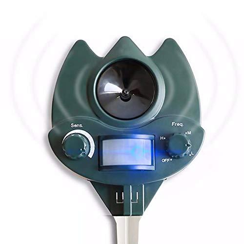YourBooy Repellente per Gatti, Repellente per Animali ad ultrasuoni, Repellente per Volpe...