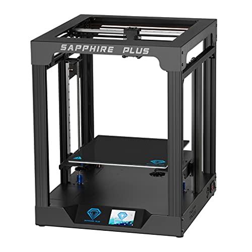 KLOVA Stampante 3D, Twotrees Stampante 3D Sapphy Plus V1.1 Kit Fai da Te 11,8x11.8x13.8in CoreXY Dual Drive Extruder PEI FDM Dual Z Axis