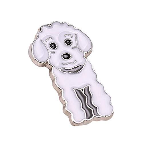 Brosche mit niedlichem Tiermotiv, Emaille, Anstecknadel für Hemd, Jacke, Kragen, Schmuck, Geschenk – 1 Gr. Einheitsgröße, 10