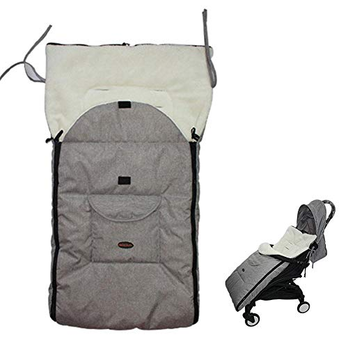 ningxiao586 Winter-Fußsack für Kinderwagen & Buggy weiches, Babyfußsack Baby Fußsack Babyschale Babydecke Waschbar