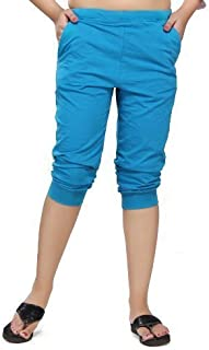 Clifton Women's Comfort Capri Turquoise Large