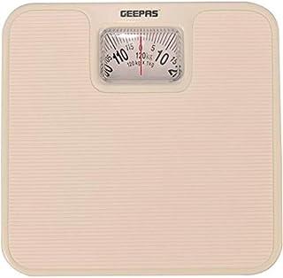 Geepas Light Brown Mechanical Health Scale, GBS4197