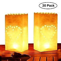 Teelicht Lichtertüten