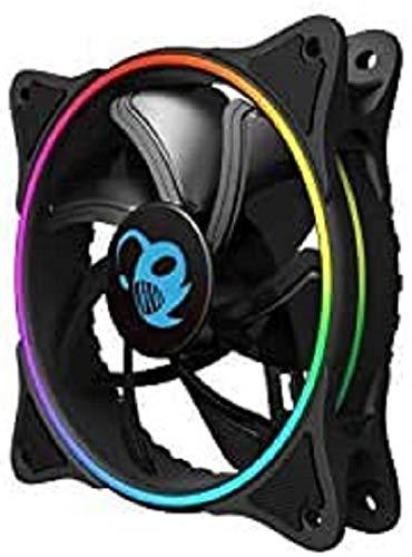 Coolbox Deep Iris - Ventilador 12cm, 1100RPM A-RGB, 120 x 120 x 25 mm