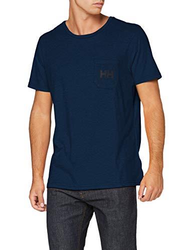 Helly Hansen Fjord Shirt Homme, Mélange Marine, XL