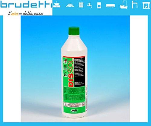 6Liter Dissol–sgorgante, Rohrreiniger flüssig Profi Schnell wirkender für Water, Waschbecken und Industrieabwässer. Nicht schadet die Leitungen.