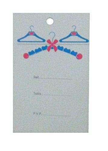 100 Etiquetas colgantes para ropa de bebé