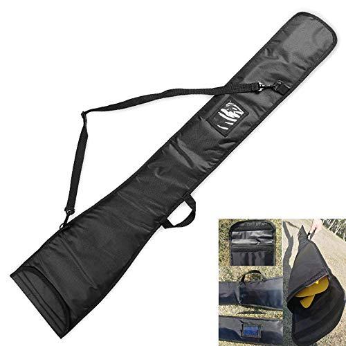 WYJW Dragon Boat Paddle Bag - Correa de Hombro Ajustable, Lona Duradera y Nylon, Compartimentos Interiores - Proteja Sus remos de Kayak para Viajes de Pesca