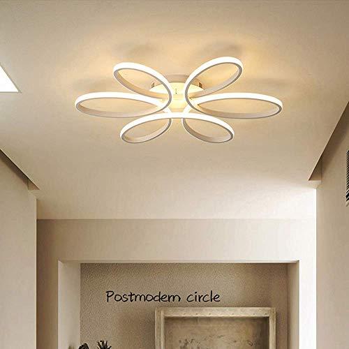 Beautiful Home Lighting/principe Modern 72 W hanglamp met dimbare afstandsbediening voor woonkamer slaapkamer eetkamer behuizing aluminium plafond hanglamp AC lamp
