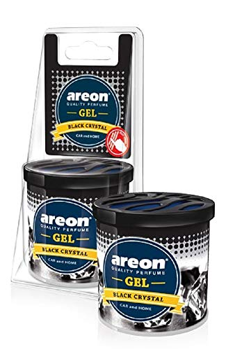 AREON Désodorisant gel CAN Black Crystal