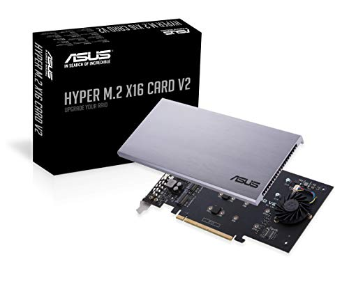 ASUS Hyper M.2 X16 PCIe 3.0 X4 Expansion Card V2