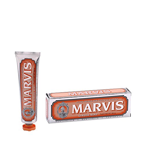 Marvis Toothpaste Ginger Mint - Marvis Tandpasta Gember Mint, 3er-verpakking (3 x 85ml)