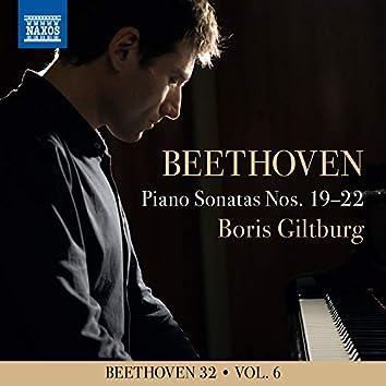 Beethoven 32, Vol. 6: Piano Sonatas Nos. 19-22