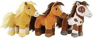 Spirit Riding Free Plush Bundle: Set of 3 includes Spirit, Boomerang and Chica Linda!