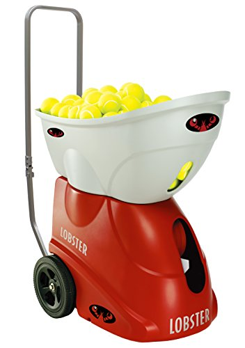 Lobster Sports Elite Freedom Portable Tennis Ball Machine (21x14x 20- Inch)