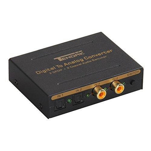 switch optico audio de la marca Tendak