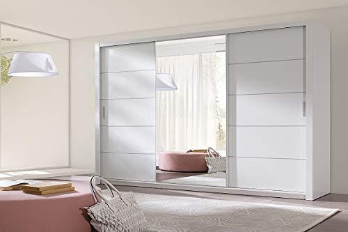 Selsey Kleiderschrank, Weiß, 250cm