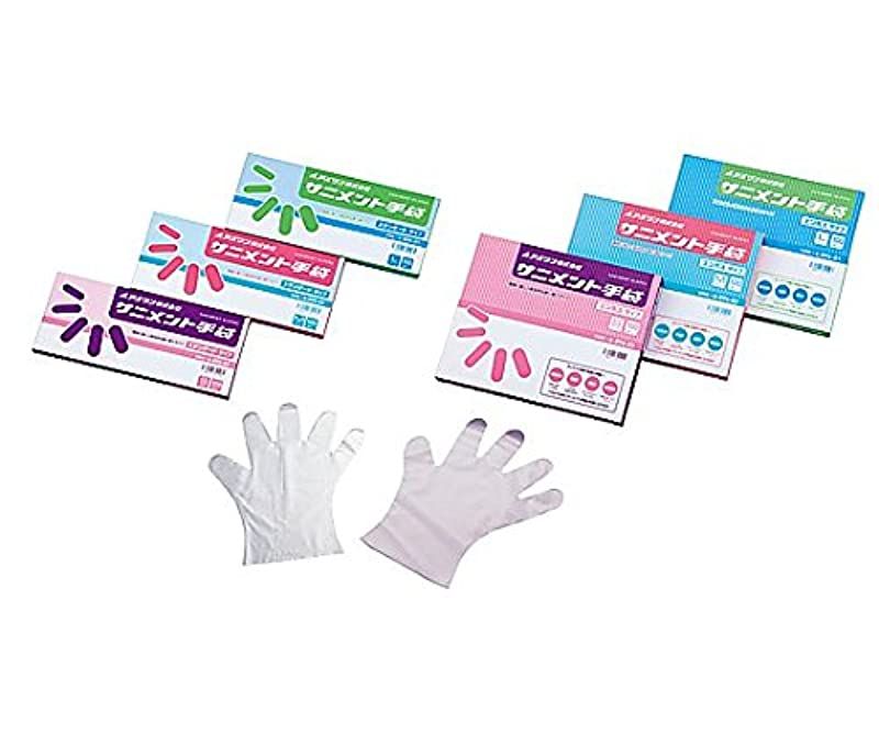 舞い上がる取り替えるかるアズワン9-888-02ラボランサニメント手袋(PE?厚手タイプ)スタンダードM10箱+1箱