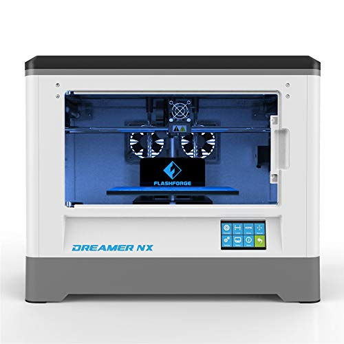 Flashforge 3D Printer Dreamer NX Single-extruder Printer enclosed PLA/ABS Prints