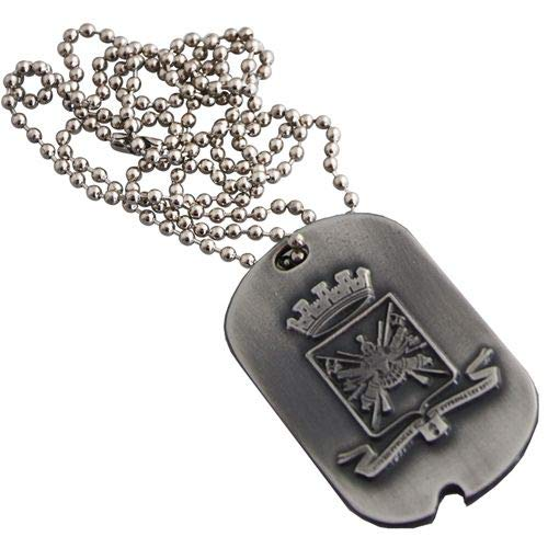 esercito italiano MEDAGLIA in Metallo ANTICHIZZATO ARALDICO