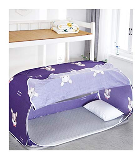 WWYYZ Estudiante Dormitorio Sombreado Cama Cortina Mosquitera Net Cortina Integrada Tienda Superior Tienda Menor Dormitorio Doble Cortinas Dormitorio Decoración