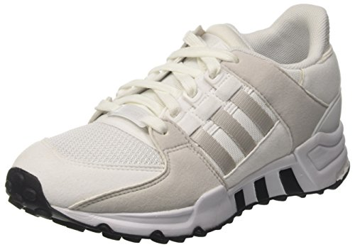 adidas EQT Support J, Scarpe da Ginnastica Unisex – Bambini, Bianco (Ftwr White/Grey One F17/Ftwr White), 39 1/3 EU