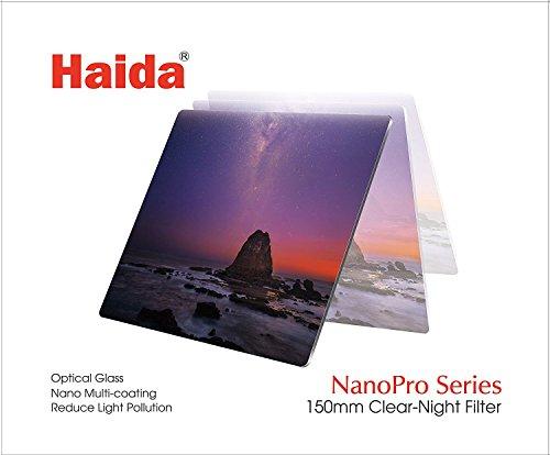 Haida NanoPro MC Optical Glass Clear-Night Filter, 150 x 150mm