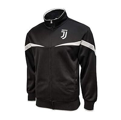 Icon Sports Boys Striker Full-Zip Track Jacket UEFA Champions League Soccer Juventus, Home, Large