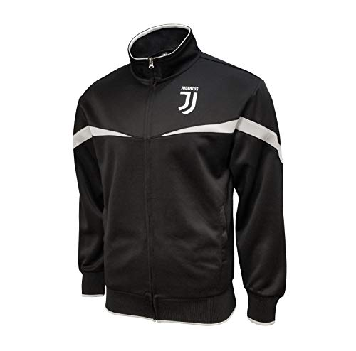 Icon Sports Mens Striker Full-Zip Track Jacket UEFA Champions League Soccer Juventus, Home, Medium