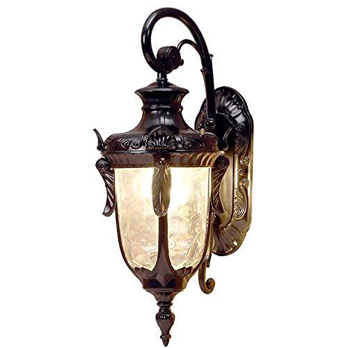 Outdoor Waterdichte Wandlamp Europese stijl binnenplaats Garden Gate Room Peripheral Muur Lamp, Aluminium Lamp om te voorkomen dat roest, Ondersteuning 3-100W verschillende krachtbronnen lichtbronnen