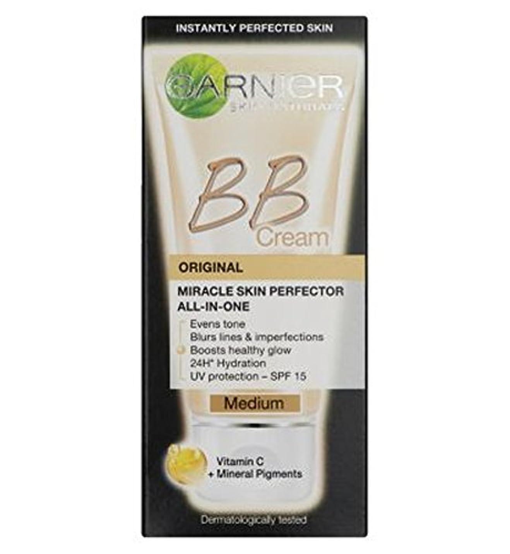 薄いです熟達した家事をする毎日オールインワンB.B.ガルニエスキンパーフェク傷バームクリーム培地50ミリリットル (Garnier) (x2) - Garnier Skin Perfector Daily All-In-One B.B. Blemish Balm Cream Medium 50ml (Pack of 2) [並行輸入品]